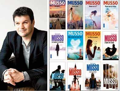 Ecrivain le plus lu de France, Guillaume Musso a écrasé ses concurrents en 2020