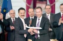 Contrat record pour Airbus