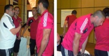 Le Onze de Taoussi au complet à Dubaï
