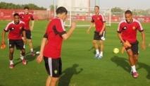 Le Onze  national  poursuit son  programme  de préparation  à Dubaï