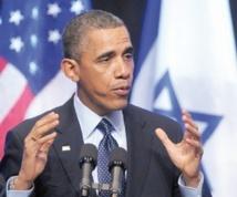 Barack Obama exhorte les Palestiniens et Israéliens à la paix sans tracer de voie