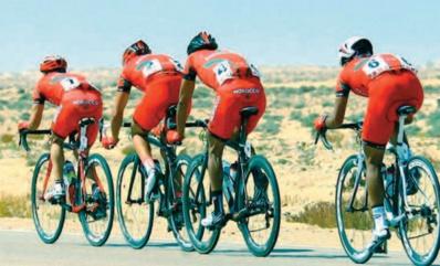 Stage de préparation au profit des coureurs-cyclistes à Benslimane