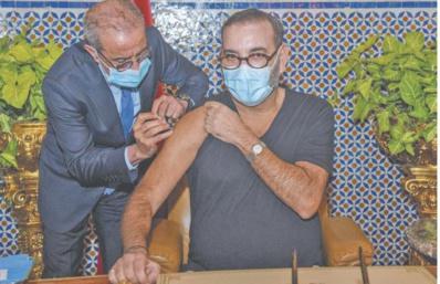 Lancement par S.M le Roi de la campagne nationale de vaccination