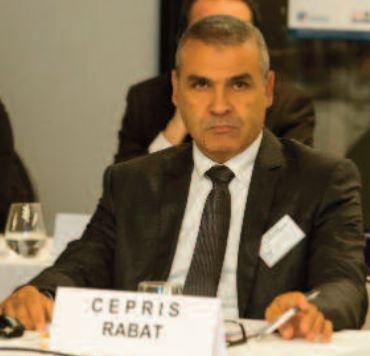 Nacer Jabour, chef de division à l'Institut national de géophysique