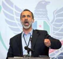 Le chef de l'opposition syrienne jette l'éponge