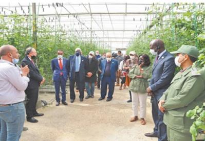 Des ambassadeurs accrédités au Maroc saluent le niveau de développement de la région de Guelmim-Oued Noun
