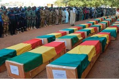Dix soldats tués dans l'attaque jihadiste la plus meurtrière contre l'armée malienne en 2021