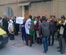 Protestation contre l'Algérie au Forum social mondial