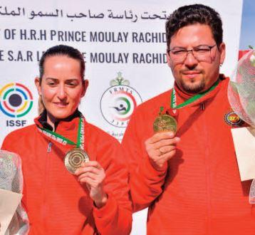 Victoire des Espagnols Alberto Fernandez et Fatima Galvez