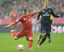 Le Bayern a taillé en pièces Hambourg