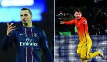Messi et Ibrahimovic, les stars ont du répondant