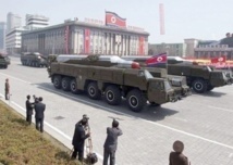 La Corée du Nord aurait placé deux missiles sur sa côte Est