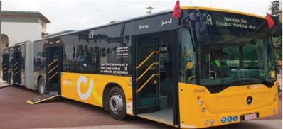 Casablanca reçoit un premier lot des bus tant attendus