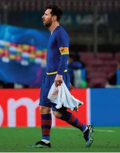 Messi et le Barça, une nouvelle débâcle synonyme de départ prochain ?