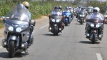 Concentration internationale des motos à Casablanca
