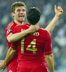 Le Bayern trop fort pour la Juve