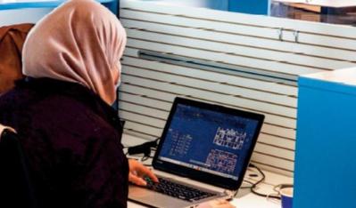 """En Libye, le """" coworking """" attire des jeunes en mal de connexion"""