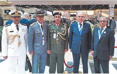 Participation du Maroc à la Conférence internationale de défense d'Abou Dhabi