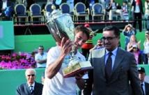 Retour gagnant de Tommy Robredo au GP Hassan II de tennis
