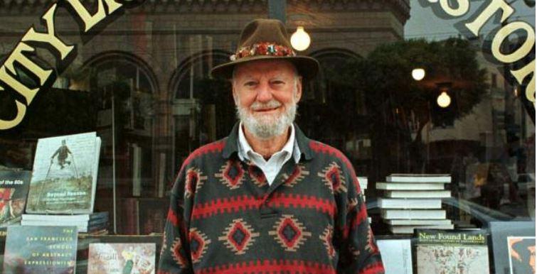 Lawrence Ferlinghetti, le poète-éditeur de la Beat Generation