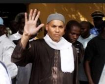 Karim Wade écroué avec sept complices pour enrichissement illicite