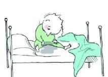 L'énurésie ou le mal-être de se réveiller mouillé