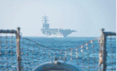 Participation de l'USS Dwight D.Eisenhower à un exercice maritime USA-Maroc