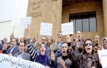 Grève et sit-in des greffiers à Rabat