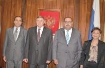 Driss Lachgar s'entretient avec l'ambassadeur russe et le chargé d'affaires chinois