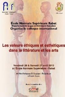 Les valeurs éthiques et esthétiques en débat à Rabat