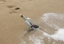 Insolite : Bouteille à la mer