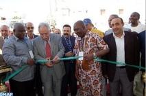 Inauguration d'une salle couverte à Agadir
