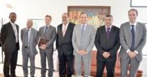 Driss Lachgar s'entretient avec le chargé d'affaires français et l'ambassadeur du Royaume-Uni