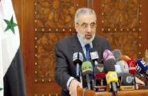 Le régime syrien rejette les accusations sur l'utilisation d'armes chimiques