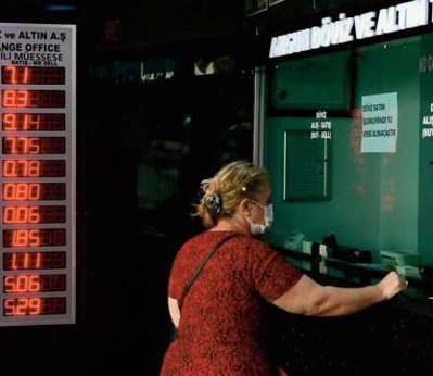 L'économie turque en berne