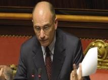 Les députés italiens accordent largement leur confiance  à Enrico Letta