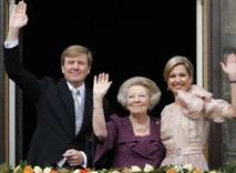 Willem-Alexander intronisé roi des Pays-Bas