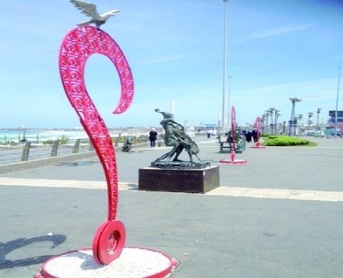 Le sculpteur Chtioui Sahbi: le public apprécie l'idée d'exposer des sculptures en plein air