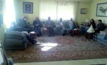 Une délégation du Bureau politique rend visite à Abderrahmane Youssoufi