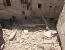 Deux maisons menaçant ruine s'écroulent en Médina de Casablanca