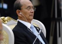 Visite historique du président birman à Washington