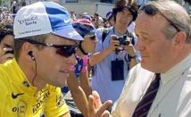 Jean-Marie Leblanc cingle Lance Armstrong