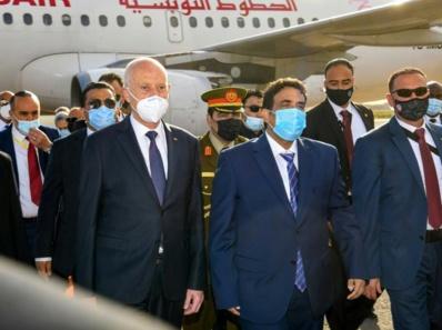 Le président tunisien entame une visite d'Etat en Libye