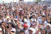 A Casablanca, une marche blanche contre le viol des enfants