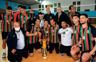 Coupe duTrône de volley-ball. Consécration de l'AS FAR