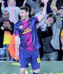 Messi à la rescousse du Barça