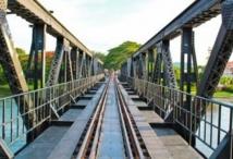 """La Birmanie espère une autre vie pour le """"chemin de fer de la mort"""""""