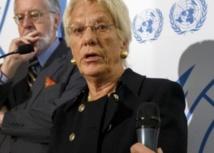 La commission d'enquête indépendante des Nations unies désavoue Carla Del Ponte