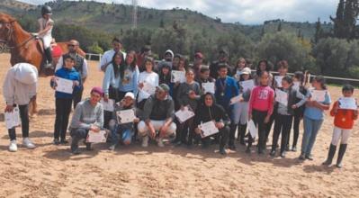 Compétition équestre à Béni Mellal: Distinction des jeunes cavaliers du RC.Anfa