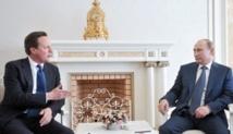 La Syrie au menu des discussions entre Cameron et Poutine